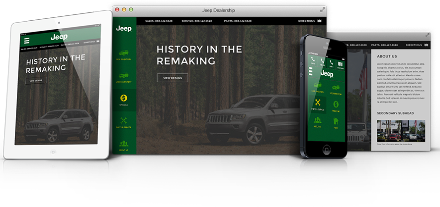 Jeep: History in the Remaking multiple devices